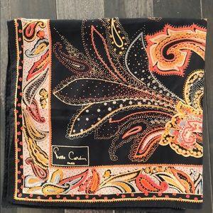 Pierre Cardin Paris Large Silk Scarf